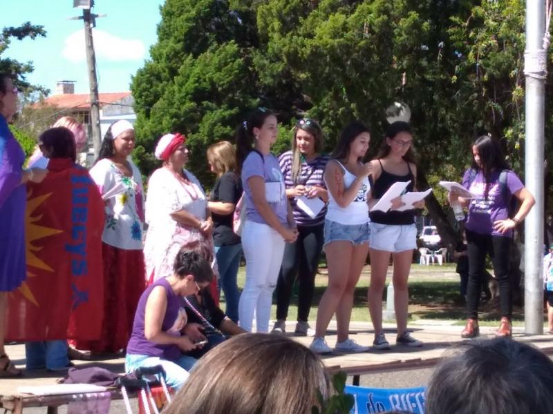08 de março, Dia Internacional da Mulher - Santana do Livramento