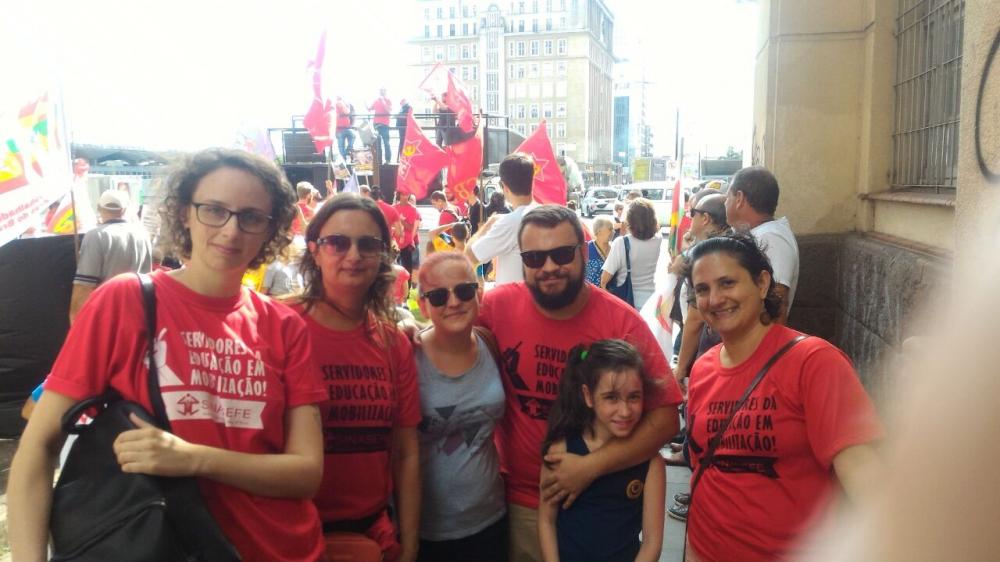 Dia Nacional de Luta contra a Reforma da Previdência - Região Metropolitana