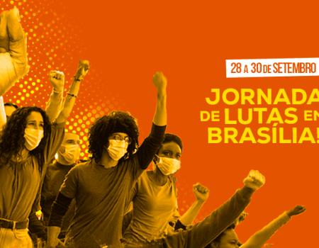 28 a 30 de setembro: 3ª Jornada de Lutas em Brasília-DF