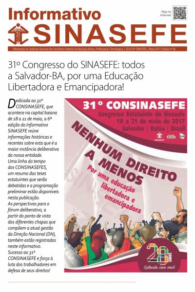 Informativo Sinasefe Nacional | Edição 06