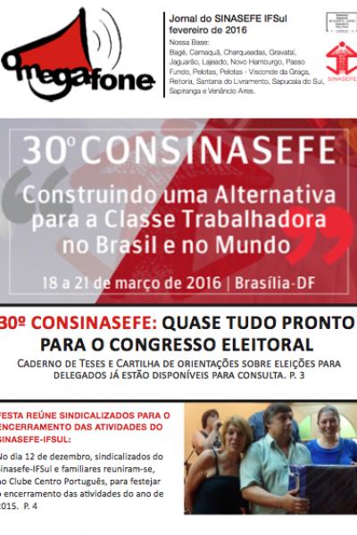Megafone Janeiro | 01/2016