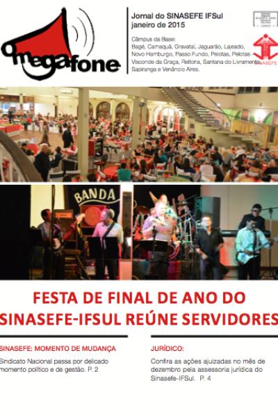 Megafone Janeiro | 01/2015